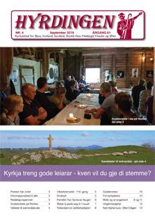 Les nr 4 av Hyrdingen 2019, august-nummeret, her